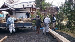 旧三井家作庭研修会